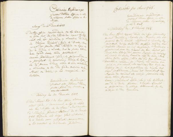 Roosendaal: Registers van resoluties, 1671-1673, 1675, 1677-1795 1766