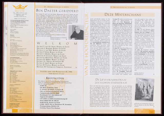 De Waterschans 2006-06-01