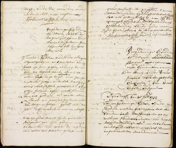 Wouw: Registers van resoluties, 1593-1811 1733