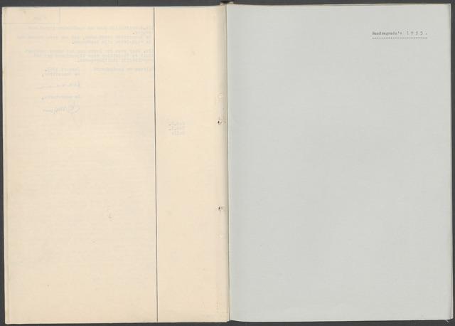 Etten-Leur: Notulen gemeenteraad, 1936-1979 1953-01-01
