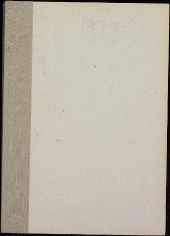 Roosendaal: Notulen gemeenteraad, 1916-1999 1977
