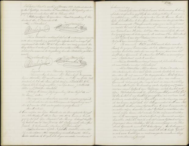 Roosendaal: Notulen gemeenteraad, 1851-1917 1887