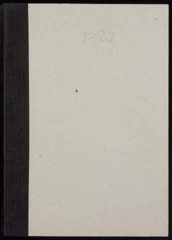 Roosendaal: Notulen gemeenteraad, 1916-1999 1982