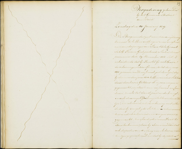 Wouw: Notulen gemeenteraad, 1813-1996 1819