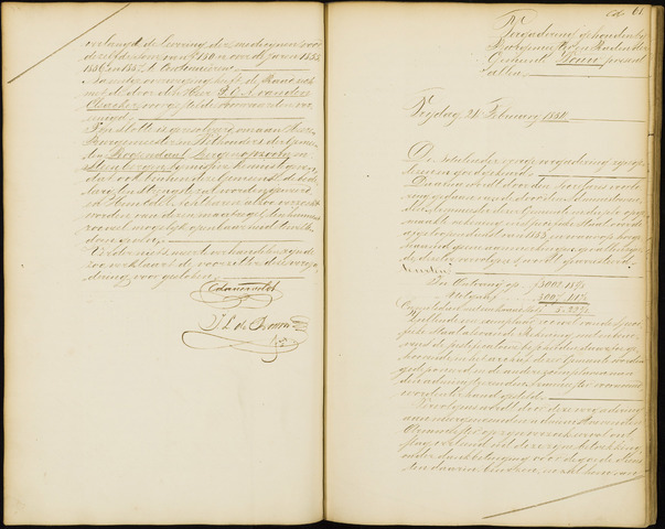 Wouw: Notulen gemeenteraad, 1813-1996 1854