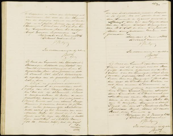 Roosendaal: Notulen, 1830-1851 1846