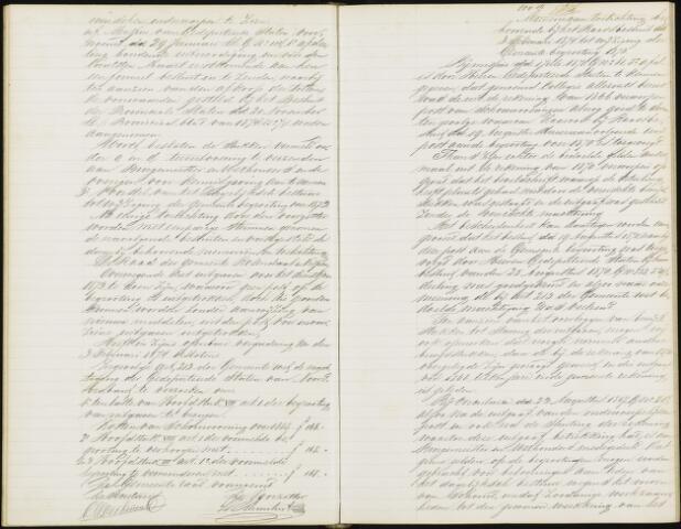 Roosendaal: Notulen gemeenteraad, 1851-1917 1874
