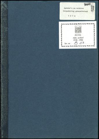 Putte: Notulen gemeenteraad, 1928-1996 1975-01-01