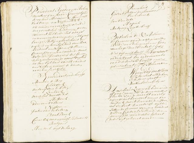 Roosendaal: Registers van resoluties, 1671-1673, 1675, 1677-1795 1753