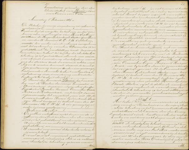 Wouw: Notulen gemeenteraad, 1813-1996 1864