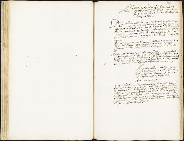 Roosendaal: Registers van resoluties, 1671-1673, 1675, 1677-1795 1690