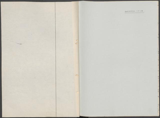 Etten-Leur: Notulen gemeenteraad, 1936-1979 1946-01-01