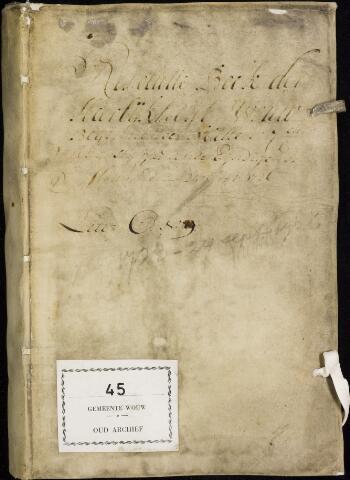 Wouw: Registers van resoluties, 1593-1811 1723