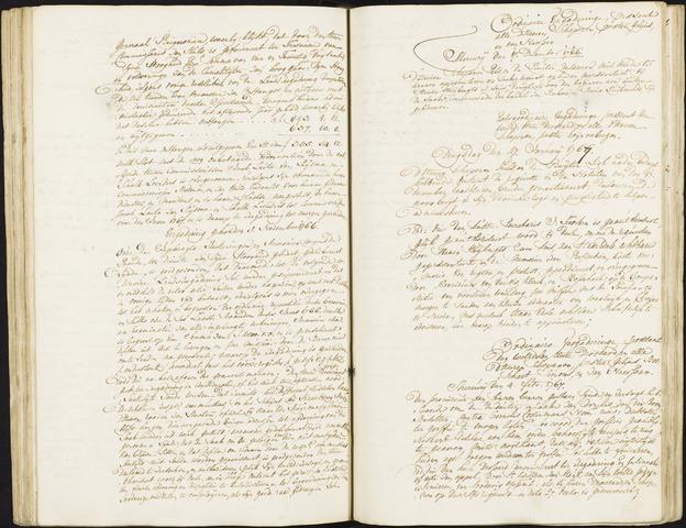 Roosendaal: Registers van resoluties, 1671-1673, 1675, 1677-1795 1767