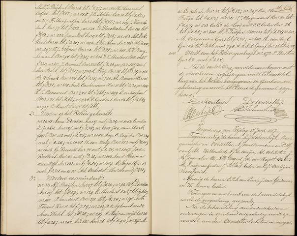 Roosendaal: Notulen gemeenteraad (besloten), 1851-1916 1887