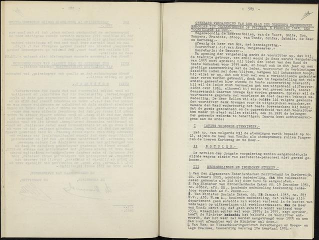 Zevenbergen: Notulen gemeenteraad, 1930-1996 1935-01-01