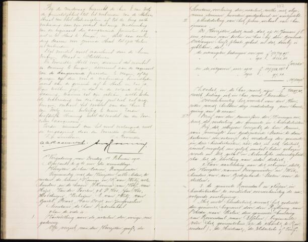 Roosendaal: Notulen gemeenteraad, 1851-1917 1911