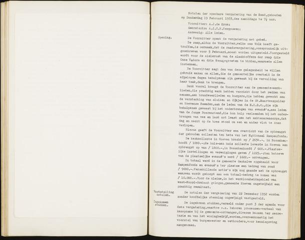 Hoeven: Notulen gemeenteraad, 1928-1996 1953-01-01