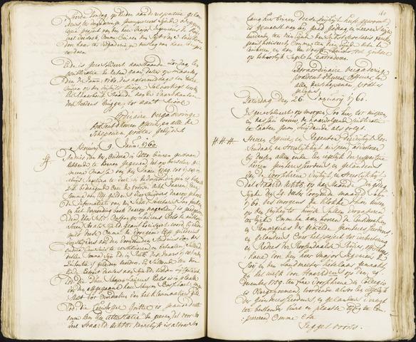 Roosendaal: Registers van resoluties, 1671-1673, 1675, 1677-1795 1760