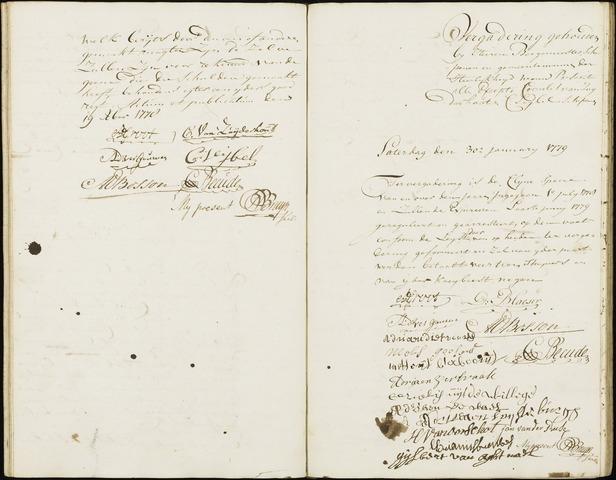 Wouw: Registers van resoluties, 1593-1811 1779