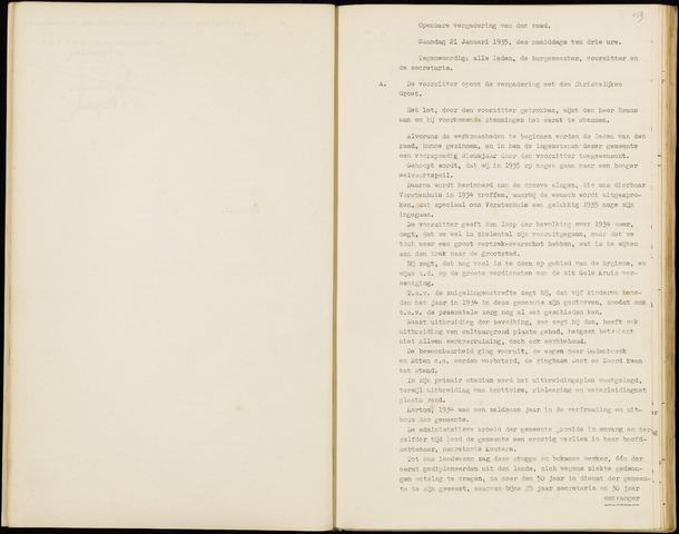 Hoeven: Notulen gemeenteraad, 1928-1996 1935-01-01