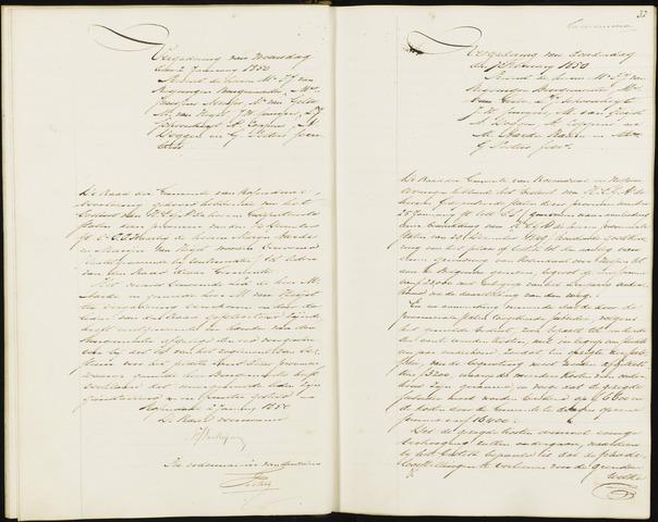 Roosendaal: Notulen, 1830-1851 1850