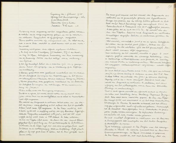 Wouw: Notulen gemeenteraad, 1813-1996 1965