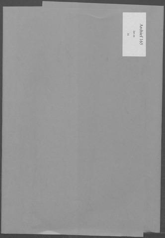 Etten-Leur: Notulen gemeenteraad, 1936-1979 1965-01-01