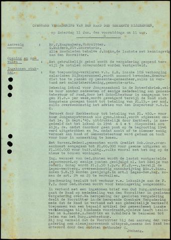 Rijsbergen: Notulen gemeenteraad, 1940-1996 1947