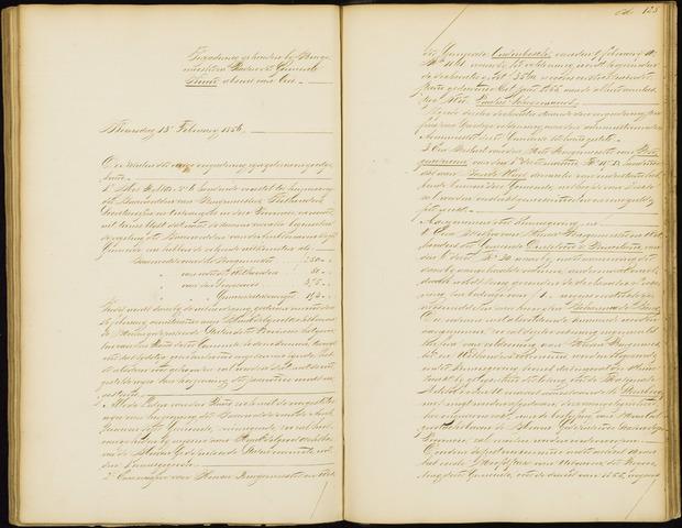 Wouw: Notulen gemeenteraad, 1813-1996 1856