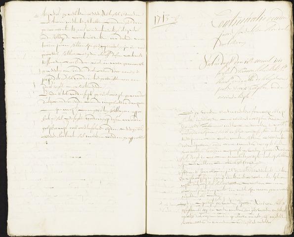 Roosendaal: Registers van resoluties, 1671-1673, 1675, 1677-1795 1713