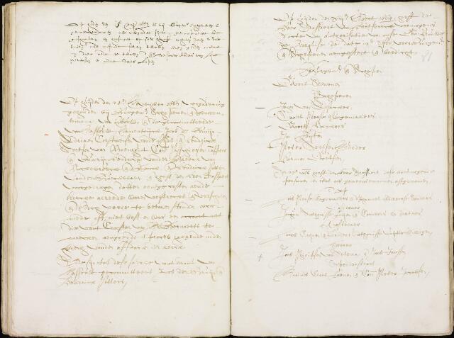 Wouw: Registers van resoluties, 1593-1811 1663