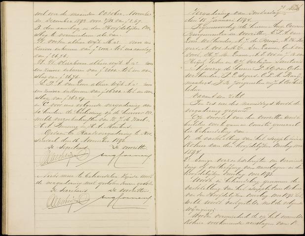 Roosendaal: Notulen gemeenteraad (besloten), 1851-1916 1894