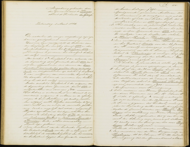 Wouw: Notulen gemeenteraad, 1813-1996 1884