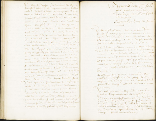Roosendaal: Registers van resoluties, 1671-1673, 1675, 1677-1795 1686