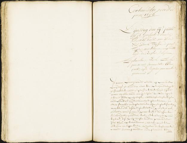 Roosendaal: Registers van resoluties, 1671-1673, 1675, 1677-1795 1696