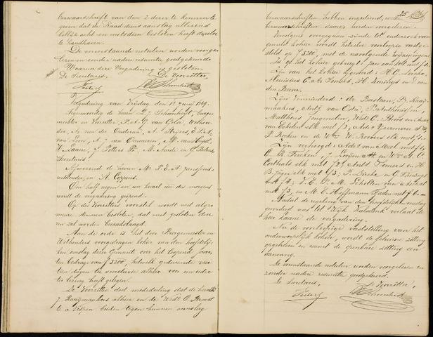 Roosendaal: Notulen gemeenteraad (besloten), 1851-1916 1869