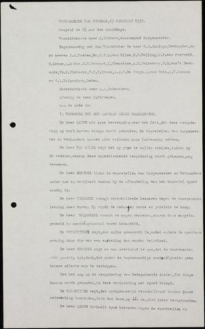 Roosendaal: Notulen gemeenteraad (besloten), 1919-1935 1932