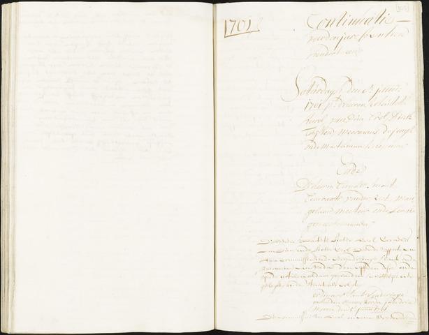 Roosendaal: Registers van resoluties, 1671-1673, 1675, 1677-1795 1701