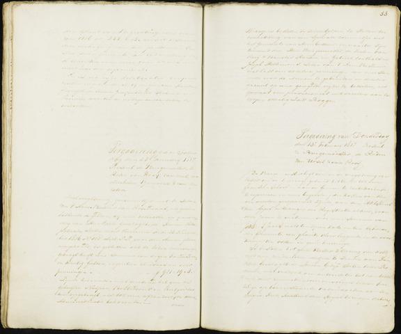 Roosendaal: Notulen 1814-1851 1817