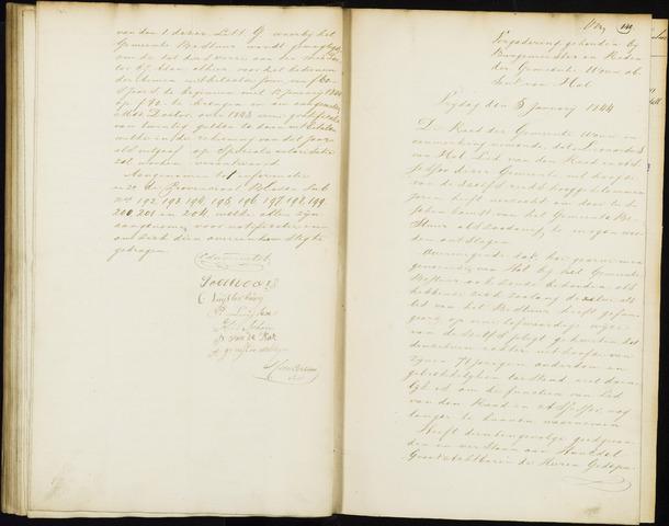 Wouw: Notulen gemeenteraad, 1813-1996 1844
