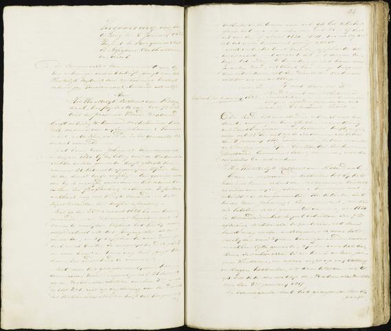 Roosendaal: Notulen 1814-1851 1822