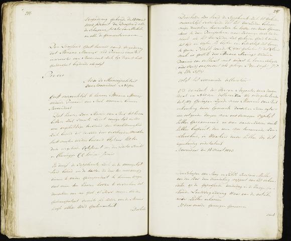 Roosendaal: Registers van resoluties, 20 juli 1794 - 22 juni 1811 1803