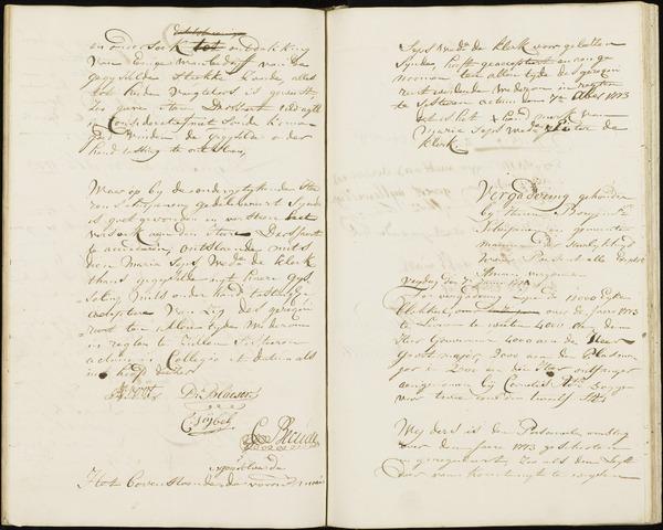 Wouw: Registers van resoluties, 1593-1811 1774