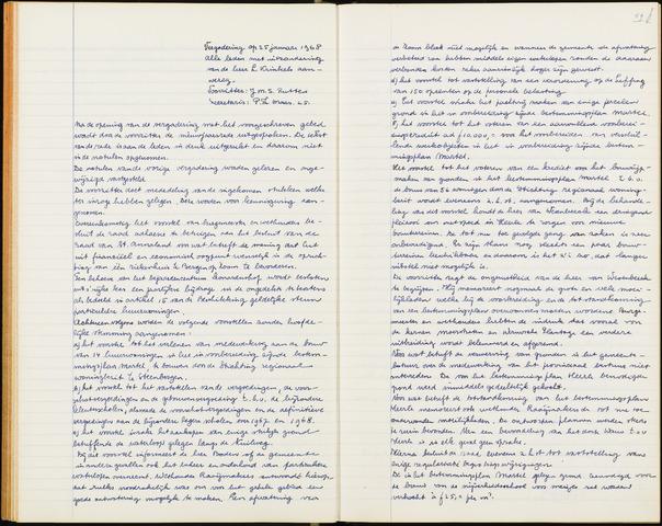 Wouw: Notulen gemeenteraad, 1813-1996 1968