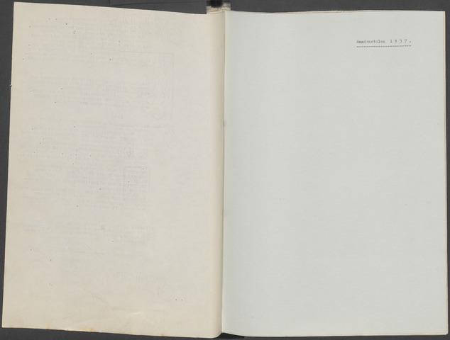 Etten-Leur: Notulen gemeenteraad, 1936-1979 1937-01-01