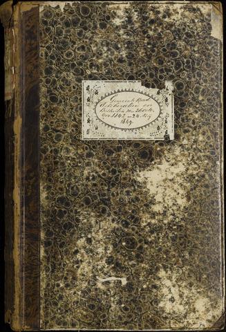 Roosendaal: Notulen, 1830-1851 1843