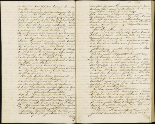 Roosendaal: Notulen gemeenteraad, 1851-1917 1868