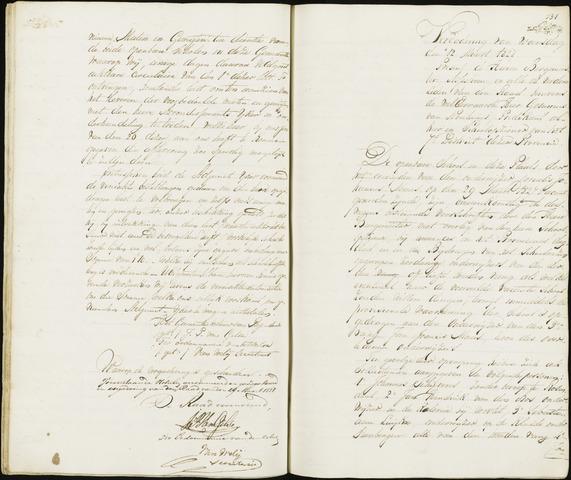 Roosendaal: Notulen 1814-1851 1828