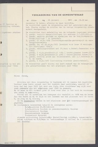 Rucphen: Notulen gemeenteraad, dec. 1949-1998 1965-01-01
